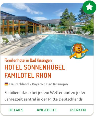 TOP-Hotels Sonnenhügel Familotel Rhön