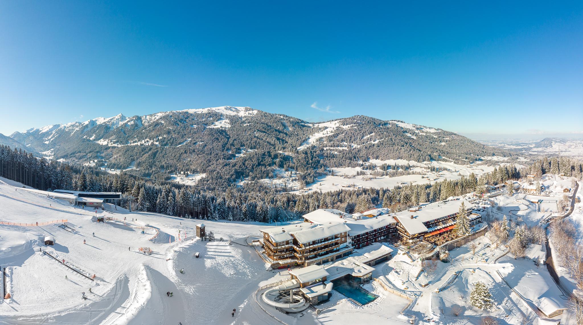 Familotel Allgäuer Berghof**** - Ein ganzer Berg für unsern Urlaub