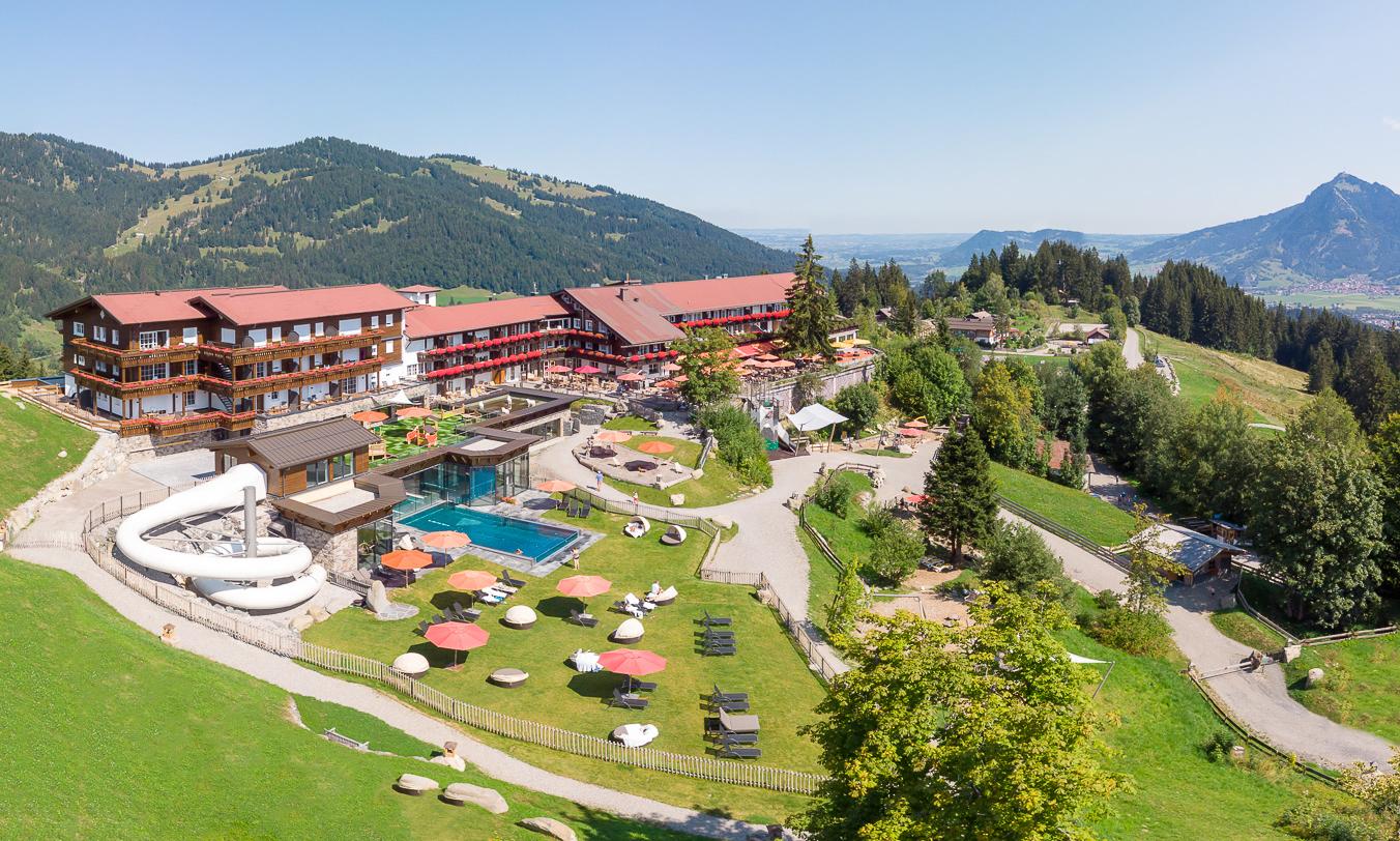 Familotel Allgäuer Berghof****s - Ein ganzer Berg für unsern Urlaub