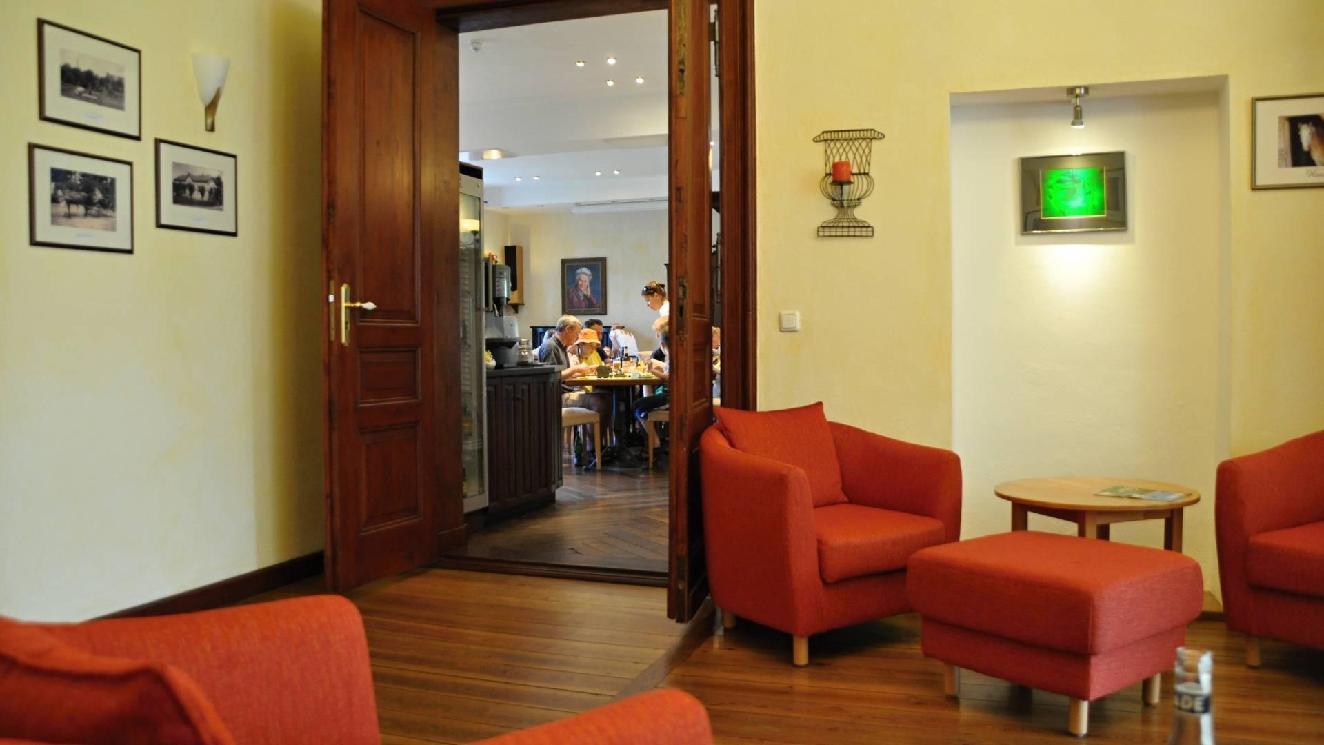 Eingangsbereich mit Speisesaal