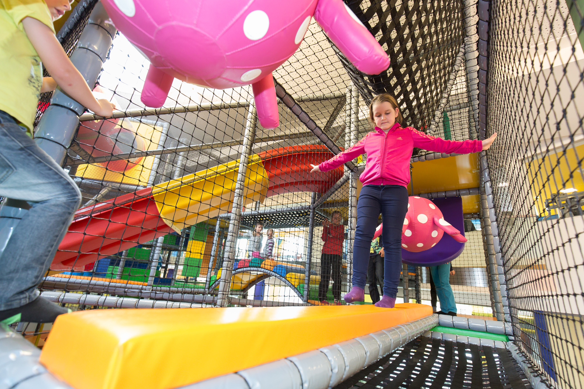 Softplay-Anlage des Kinderhotels AIGO