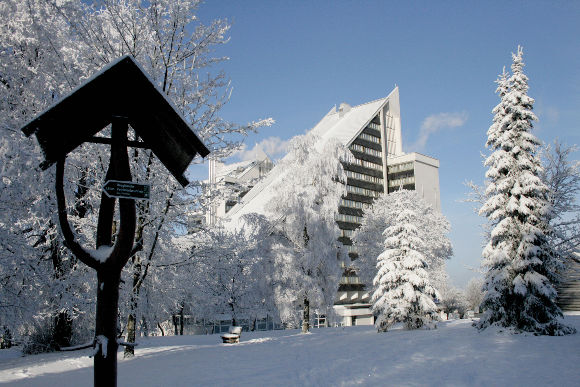 AHORN Panorama Hotel Oberhof im Winter