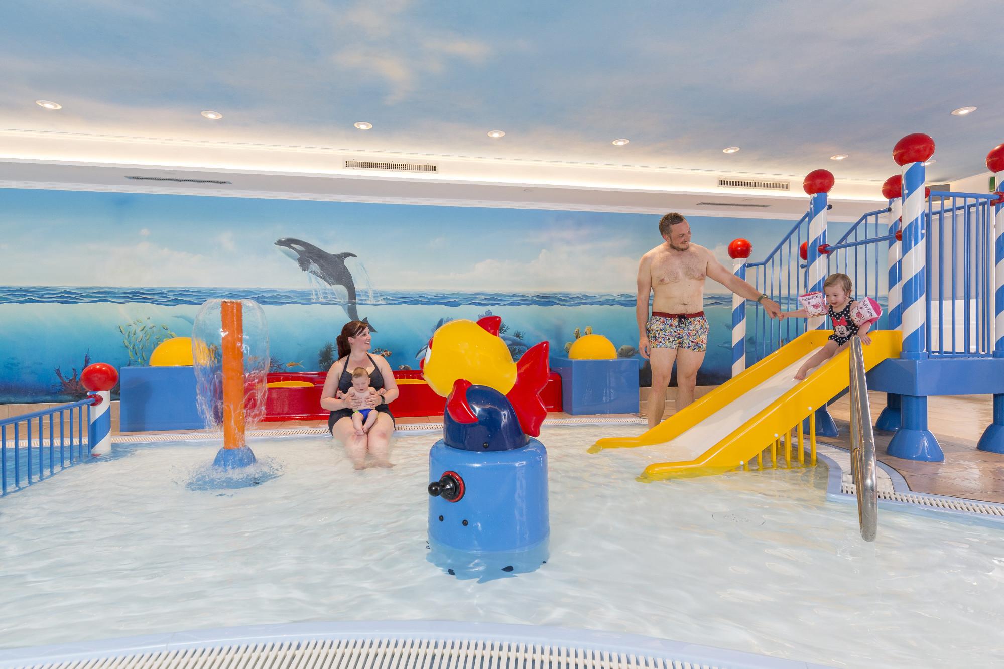 Baby- & Kleinkinder-Pool im Familotel Kaiserhof - Berwang