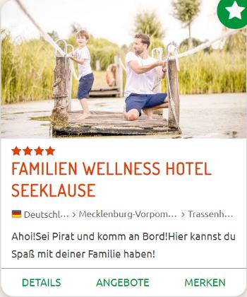 Kinderhotel Seeklause Ostsee
